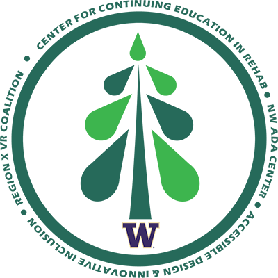 Logo for CCER featuring green tree inside a green circle